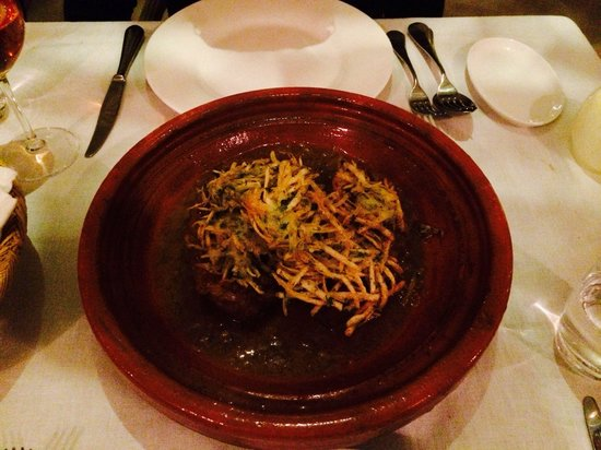 Riad Joya: Beautiful lamb tagine