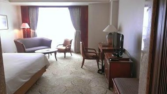 The Sultan Hotel & Residence Jakarta : Grand Deluxe Room - Lagoon Tower