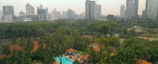 The Sultan Hotel & Residence Jakarta : Pleasant surroundings