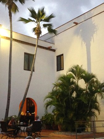 Hodelpa Nicolas de Ovando: Área da piscina