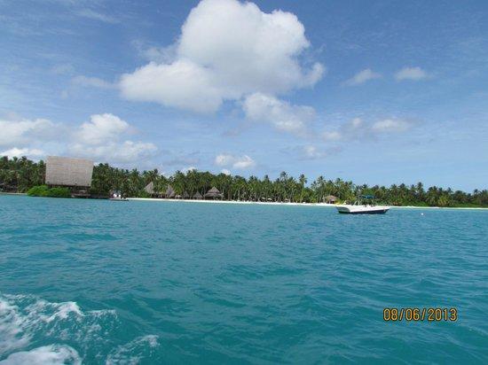 Park Hyatt Maldives Hadahaa : Общий вид на отель
