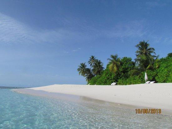 Park Hyatt Maldives Hadahaa : Пляж
