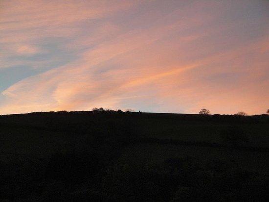 The Dartmoor Lodge: Early Morning
