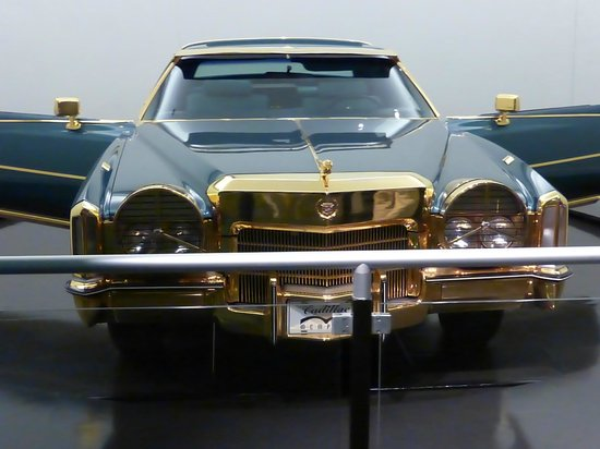 Stax Museum of American Soul Music: Exhibit - Isaac Hayes Automobile
