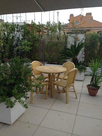 Hotel De Petris: Rooftop (breakfast)