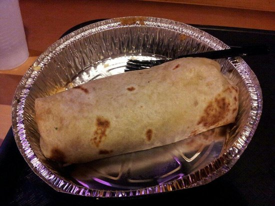 Costa Vida: The burrito is large and yummy.