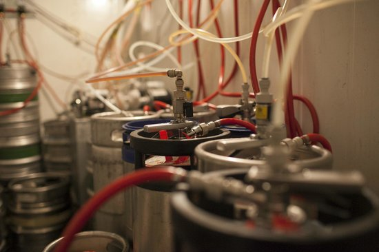 Bourbon Street Herzliya: 40 different kinds of draft beer