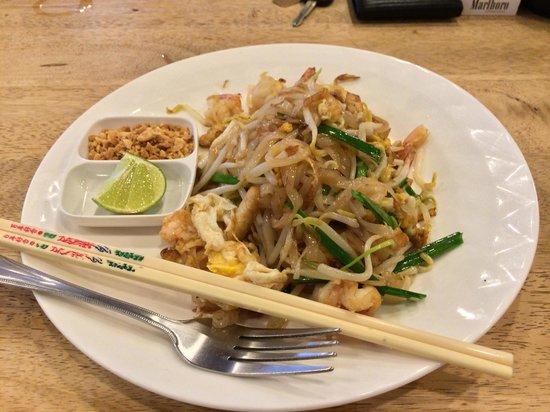 Khaosan Restaurant: Best paad Thai!