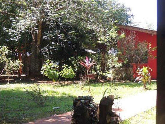 Casa Yaguarete: Sólo una parte  del parque