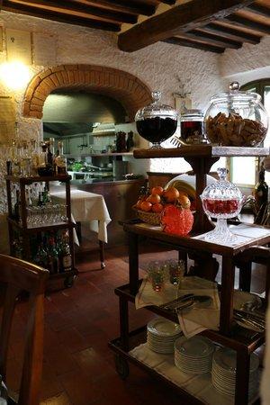 Ristorante Il Pozzo: view from our table