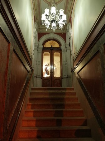 Residencial Rex: ホテル入口