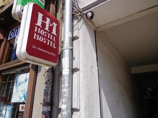 Hostel Mostel : Entrada