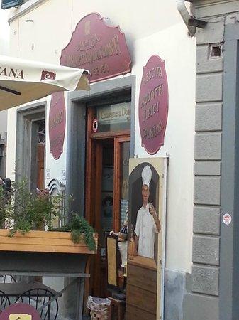 Antica Fiaschetteria del Chianti: Entrata Osteria