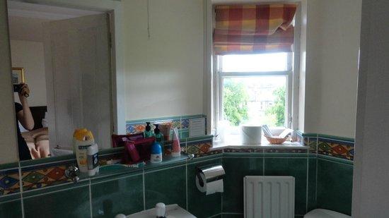 Ballantrae West End Hotel: Ванная комната, слева душевая кабина