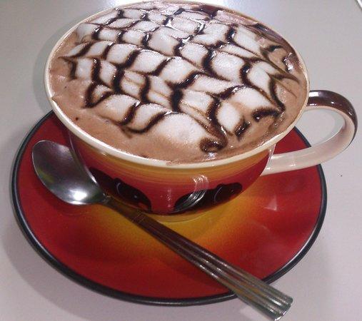 Boulangerie Patisserie De Samui: chocolat chaud !!!!