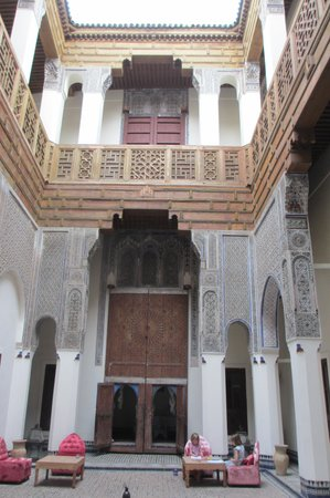 Hotel & Spa Riad Dar Bensouda : Favourite spot in the Dar Bensouda