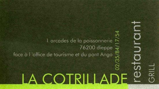 LA COTRILLADE : carte