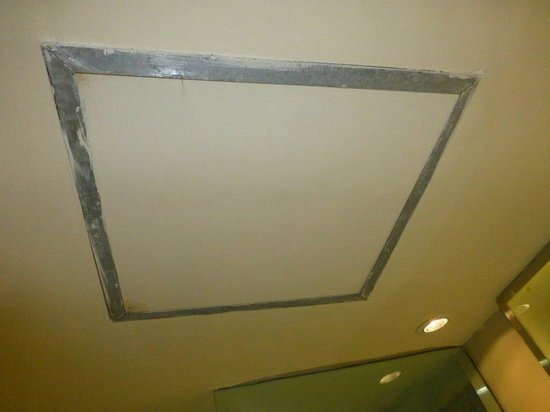 Novotel Manado Golf Resort & Convention Centre: ceiling needs tidying up
