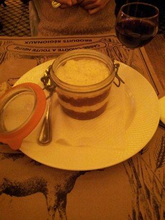 Chez Prosper : Riz au lait aux pommes