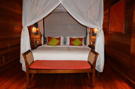 Hilton Seychelles Northolme Resort & Spa : lit king size