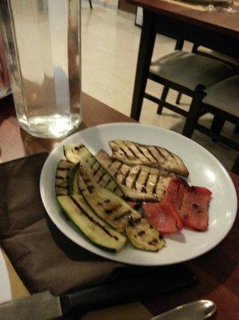 Le Petit Paris: verdure gligliate