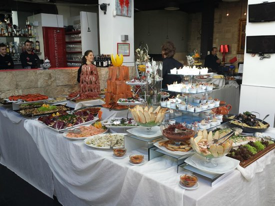 Buffet Picture Of Momart Cafe Rome Tripadvisor