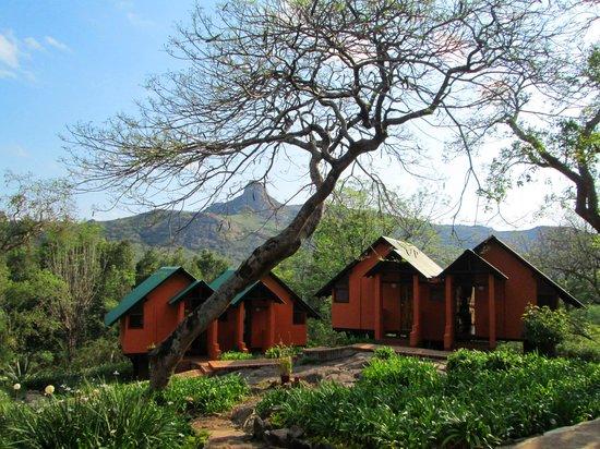 Mantenga Lodge: Rockview rooms