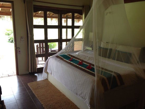 Le Flamboyant Resort : Nice bungalow, cosy and romantic...