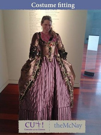 McNay Art Museum : This special exhibit of period costumes from films offered interactive experience.