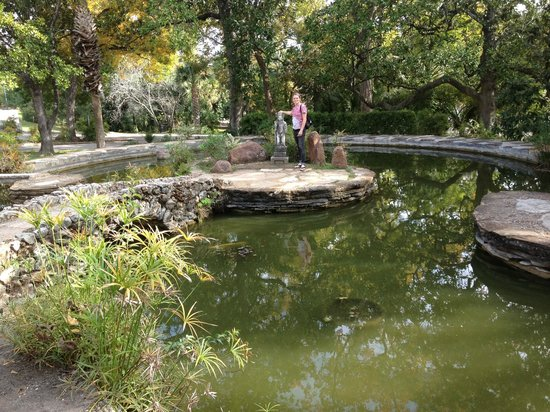 McNay Art Museum: The grounds of the McNay have many beautiful spots to explore.