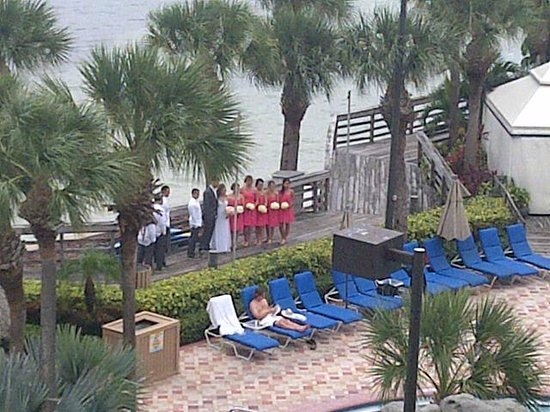 Clearwater Beach Marriott Suites on Sand Key: Wedding in Flip Flops