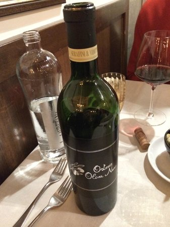 Osteria Oliva Nera : Owners wine - Fantastic Red