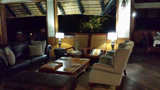 Camp Moremi : Speisesaal