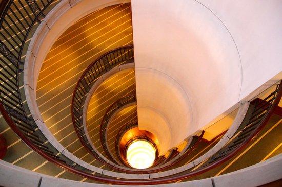 Park Hyatt Hamburg: view down