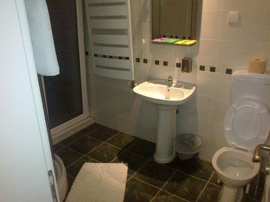 Vila Apolo: łazienka