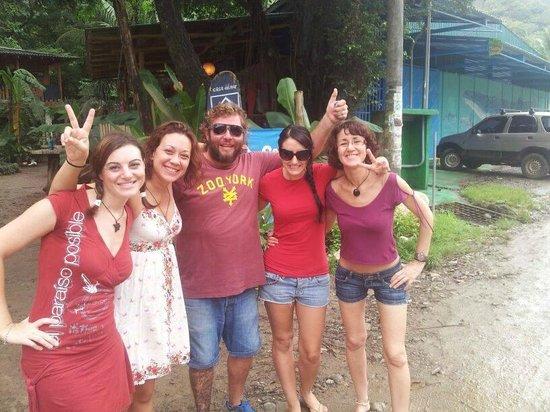 Casa del Mar Surf Destiny: Nosotras y Cesar