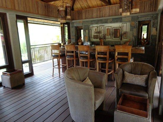 Lakaz Chamarel Exclusive Lodge: Bar