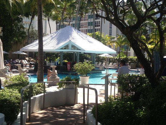 The Condado Plaza Hilton: 1 of 3 pools