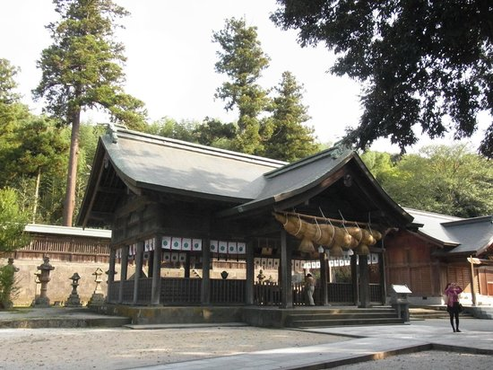 Matsue, Japán: a hall of worship