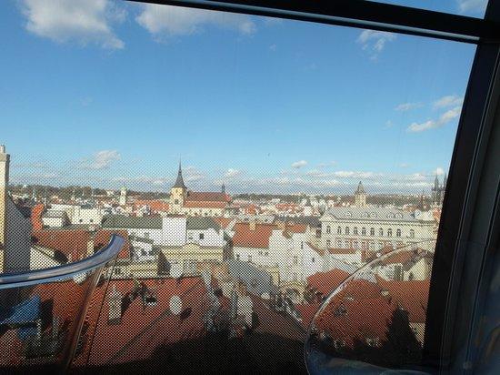 Design Metropol Hotel Prague: Utsikt fråm vårt rum!