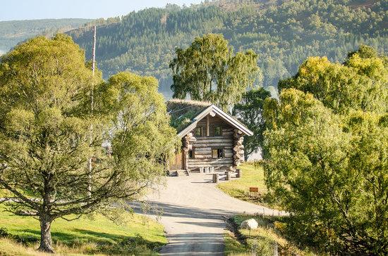 Beauly, UK: Log cabin Tringa
