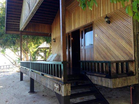 Pom Pom Island Resort & Spa: beach villas