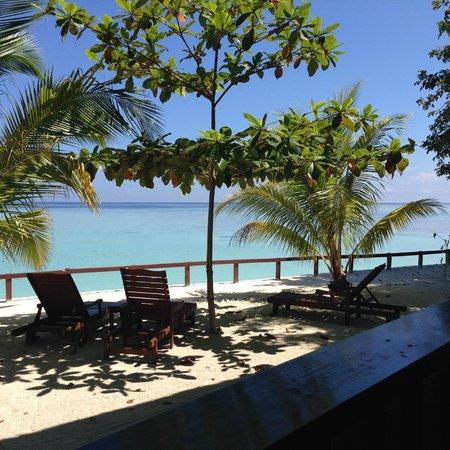 Pom Pom Island Resort & Spa: spiaggia privata