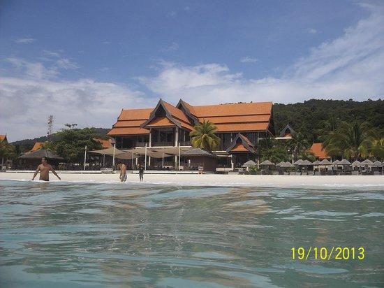 Laguna Redang Island Resort: Hotel view