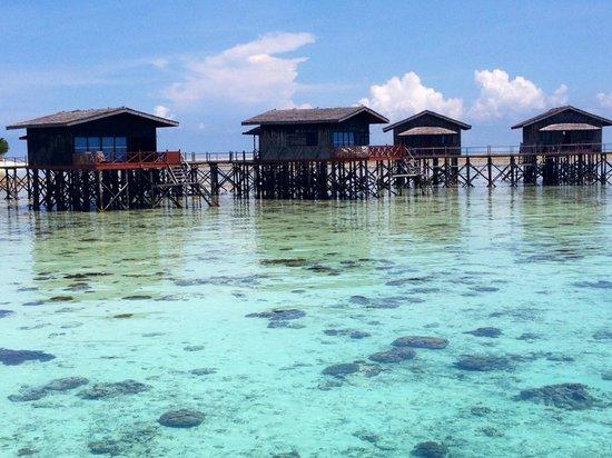 Pom Pom Island Resort & Spa: over water