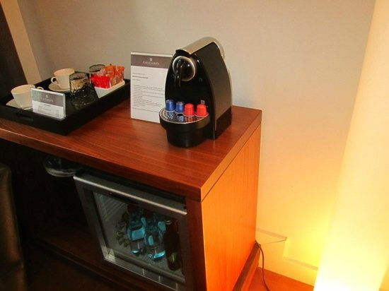 Cascades on the Promenade: Nespresso Machine in room
