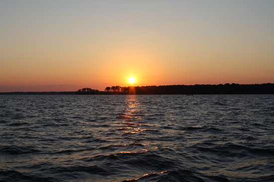 Sunset Over Lake Murray Picture Of Lexington South Carolina