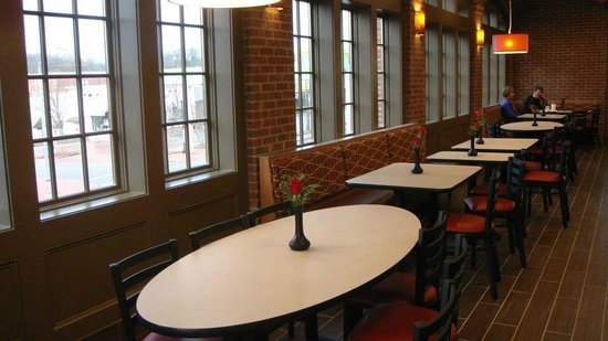 Fil A Upstairs Dining Room With View Of Cameron Village
