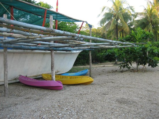 Kingfisher Park : Kingfisher resort and their kayaks for rent