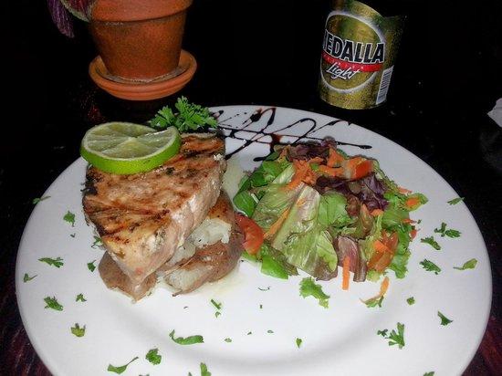 Cocina Creativa: Grilled tuna